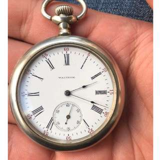 美國華生懷錶 Waltham pocket watch