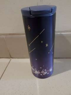 Starbucks night Sakura tumbler