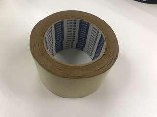 Brown masking tape 70mm width (10 rolls per set)