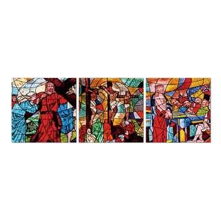 Jesus Glass Effect Acrylic Print 3 Piece