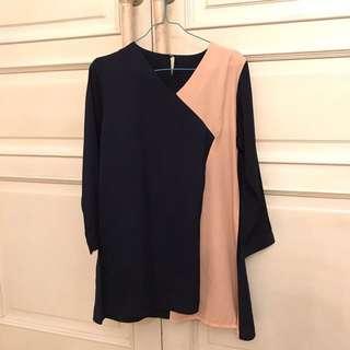 Tunik Dress Asimetris