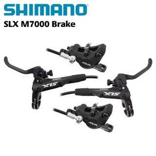 🆕! Shimano SLX M7000 MTB Hydraulic Brakes    ( Front and Rear )   #OK