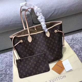 100% Authentic - LV Neverfull MM