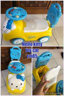 Hello kitty toy car