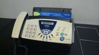 Brother三合一懷舊,電話、傳真、影印機
