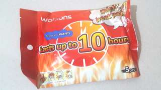 Watsons Mini Heat Pad 5pcs