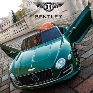 Bentley ride on electric car for kida with remote control and door