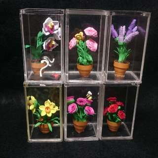 quilling flower miniatures