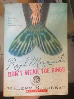 Real Mermaids don't wear toe rings by Helene Boudreau #20under