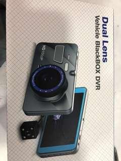 Car Camera 1296p wide lens dual cam
