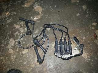 Coil plug komplit 4g93