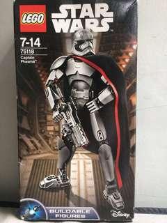 LEGO star wars. captain phasma.