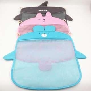 Tas kantong untuk simpan peralatan mandi mainan anak alat tulis HPR119