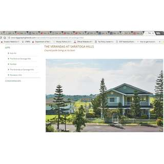 Own a piece of Tagaytay Highlands in one of its premiere subdivisions!