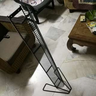 (sale) metal cd tower rack