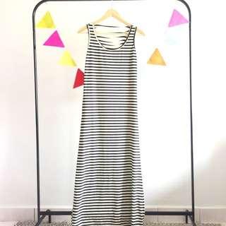 Stripes Maxi Dress