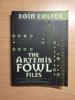 The Artemis Fowl Files Eoin Colfer