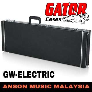 Gator GW-ELECTRIC Deluxe Wood Series Electric Guitar Case