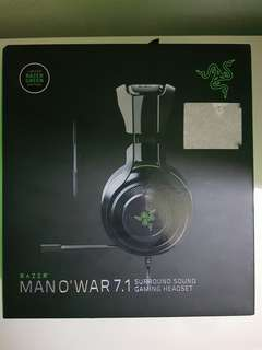 Razor MANO' WAR 7.1 SURRONG SOUND GAMING HEADSET