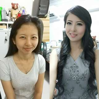 Make up and hairdo for ROM