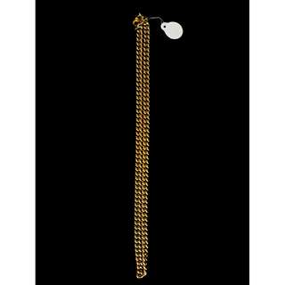 24K Gold Plated Necklace for Sale (Copper Base)