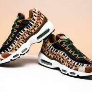 Authentic Nike Air Max 95 DLX Animal Pack 2.0