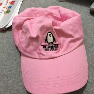 🚚 粉紅帽 潮帽 古著帽