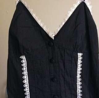 Reverse Black Dress
