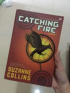 Catching fire (hunger games series)