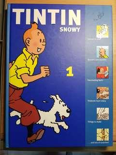 Tintin and Snowy Album 1 Hergé