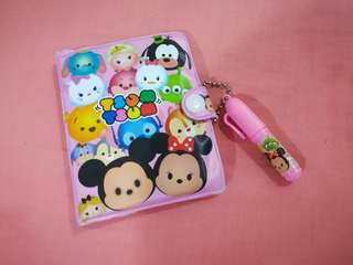 🆕 Tsum Tsum Mini Notepad with pen