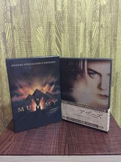 the mummy dvd box set and the others