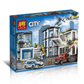LELE™ 39058 City Police Station