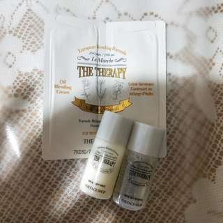 The Face Shop The Therapy - Tonic treatment + emulsion + cream