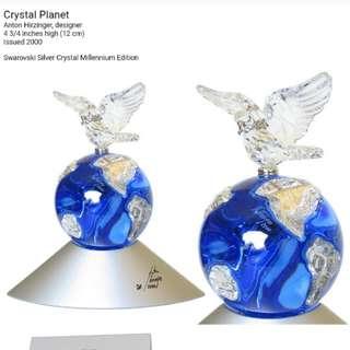 Swarovski 水晶擺設 crystal planet