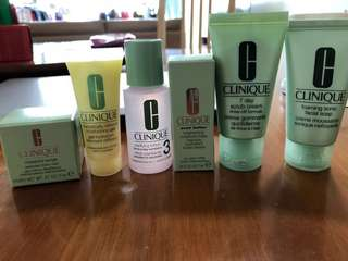 Clinique Travel Set 6pcs - NEW!