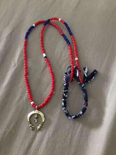Native american beads bandanna naja visvim goros larry smith
