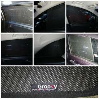 Honda Stream Groovy Car Shade
