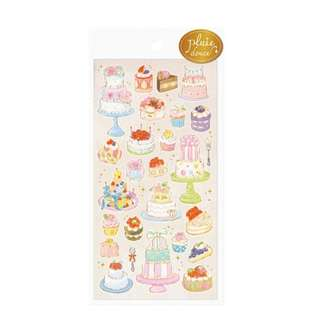 Only 1 Instock! (Mix & Match)*Mind Wave Japan - Pluie Douce Cakes theme Stickers