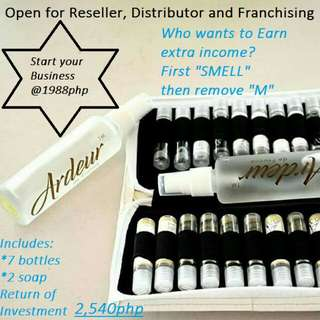 Perfume business open for reseller, distributor and franchising