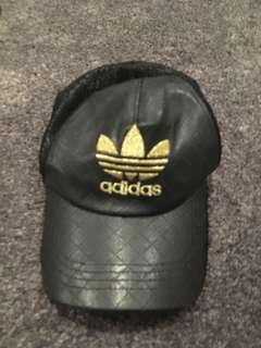 Leather Adidas cap
