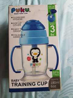 Puku sippy/ training cup