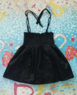 Black Cute Top
