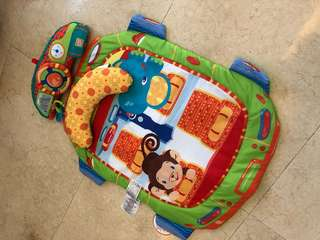 Bright start tummy prop and playmat