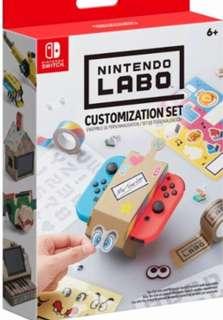 全新Switch Labo: Customisation Se