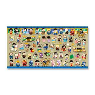 Only 1 Instock! (Mix & Match)*Mind Wave Japan - Nihon People theme Stickers