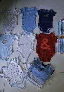 13pcs.baby clothes 6-9months