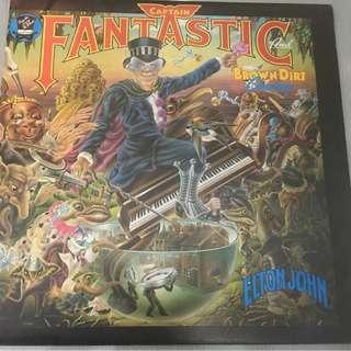 Elton John – Captain Fantastic And The Brown Dirt Cowboy, Vinyl LP, DJM Records – DJLPX 1, 1975, UK