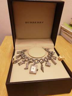 Authentic Burberry charm bracelet