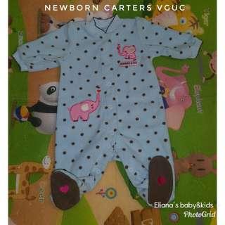Newborn carters frogsuit